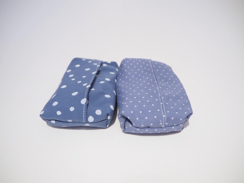 Taschentüchtasche blau