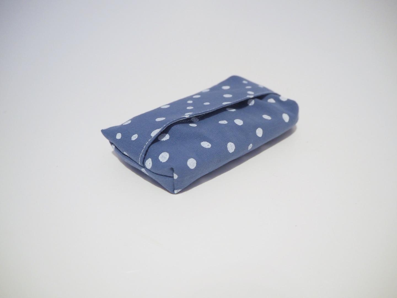 Taschentüchtasche blau 3