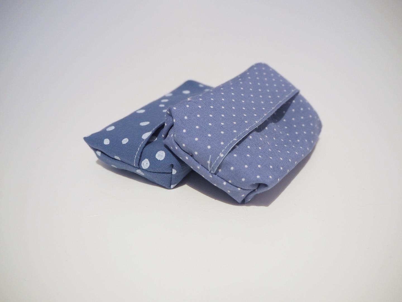 Taschentüchtasche blau 2