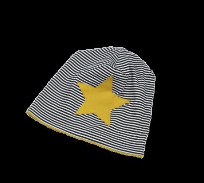 Beanie Mütze Kindermütze Stern