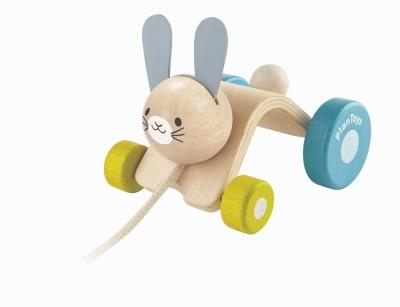 PlanToys Nachziehtier Hase - 12 Monate