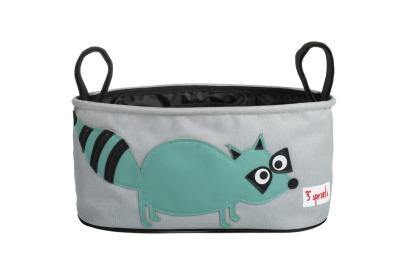 Kinderwagentasche von 3 Sprouts Waschbär