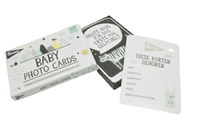 Baby Photo Cards von Milestone Over
