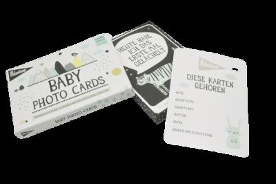 Baby Photo Cards von Milestone 30Stück