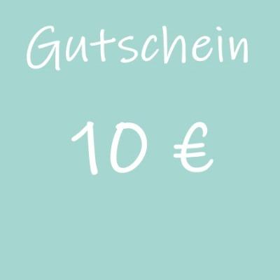 Gutschein 10 - Geschenkgutschein
