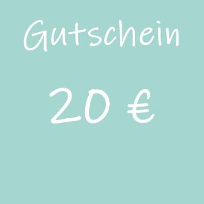 Gutschein 20 - Geschenkgutschein