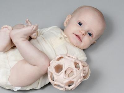 Hevea Starball Naturkautschuk UPCYCLING - Babyspielzeug