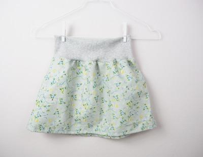 Mädchenrock mint Skirt - handmade