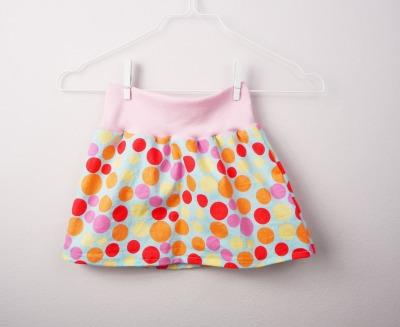 Mädchenrock Skirt Regenbogen - handmade