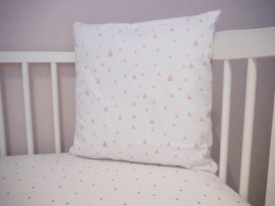 Kinderkissen weiß romantisch Kinderzimmer Kinder Kissen