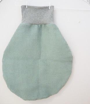 Pucksack mint - Schlafsack Neugeborene