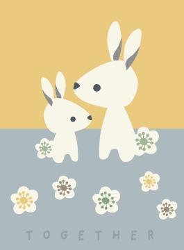 Poster Kinderzimmer Together -