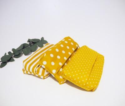 Taschentüchtasche senfgelb - Zero Waste