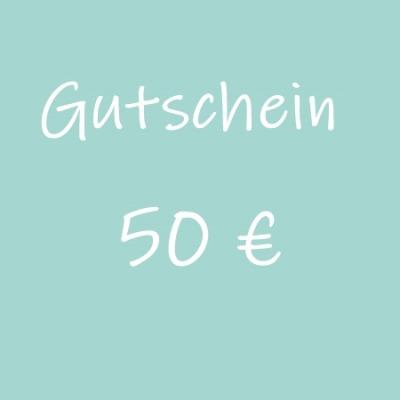 Gutschein 50 - Geschenkgutschein