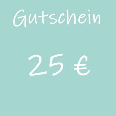 Gutschein 25 - Geschenkgutschein