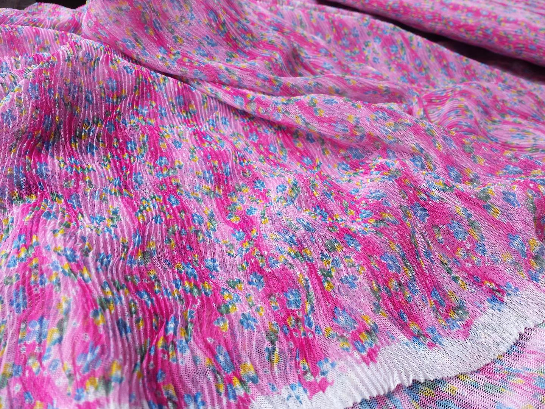 Sommer Kleid in Pink Tüllkleid ROTETULPE