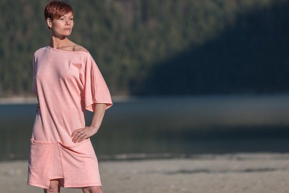 Kleid Qube Sommerkleid aus Jersey mit