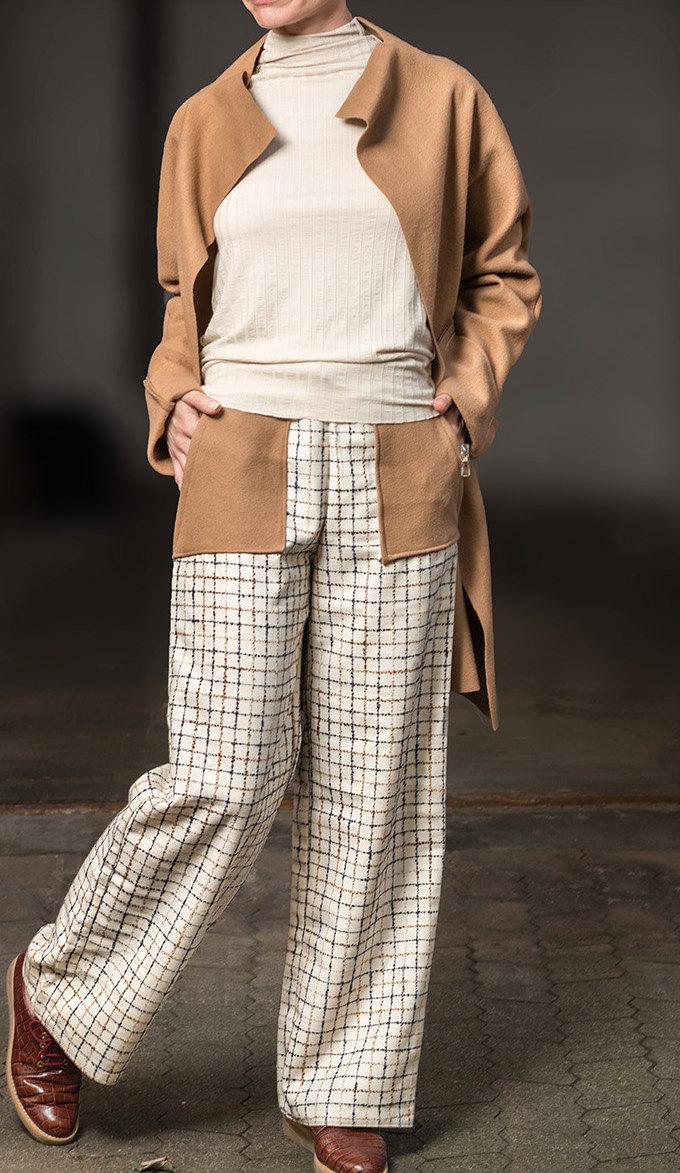 Rollkragen Pullover Moderne Pullover Minimalistischer Pullover