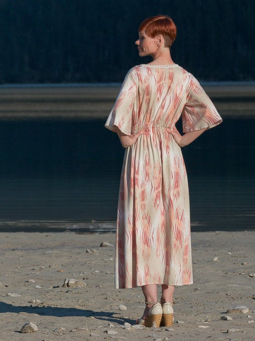 Ethno Kleid Boho Kleid Sommerkleid Hippie