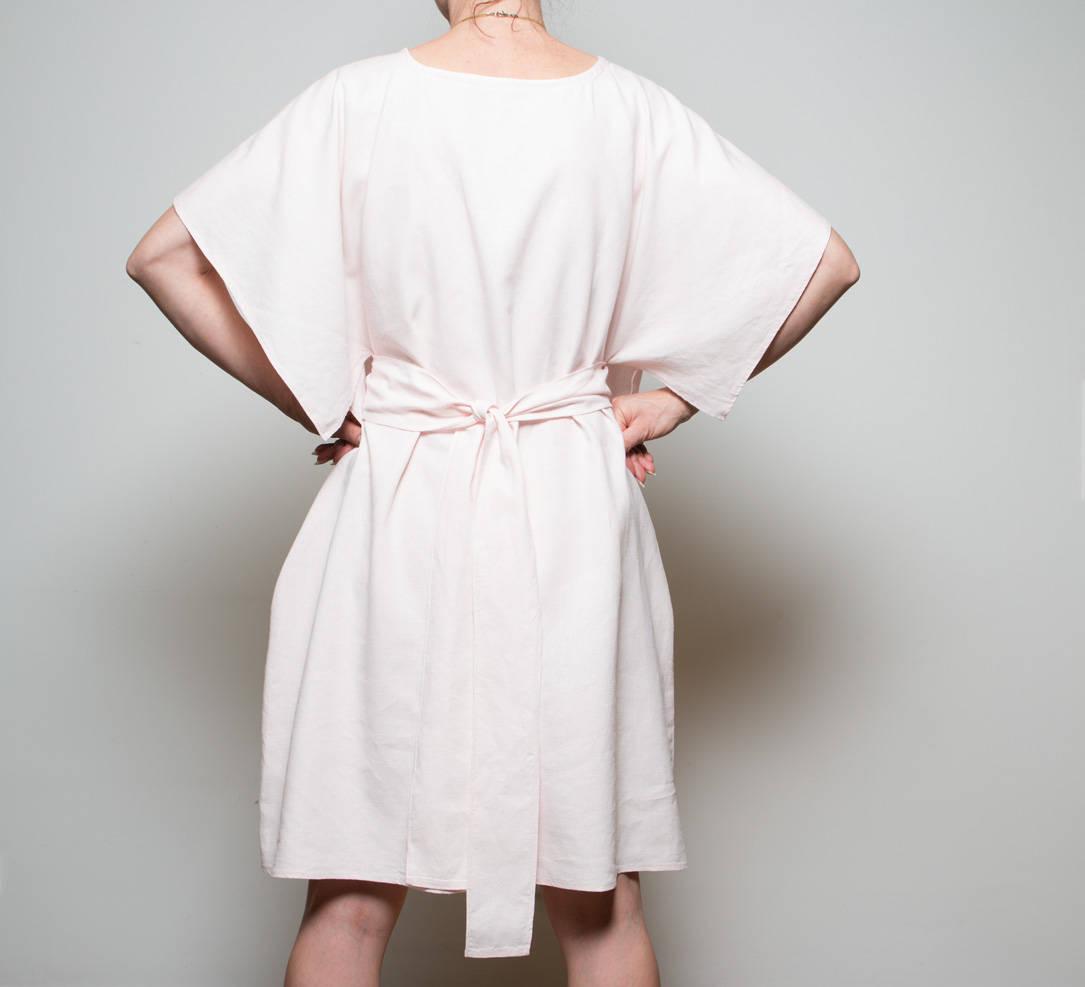 Leinen Kleid Kandy schlichtes Sommerkleid 4