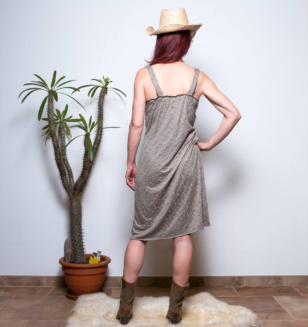 Kleid mit Blumenmuster Boho Kleid 5