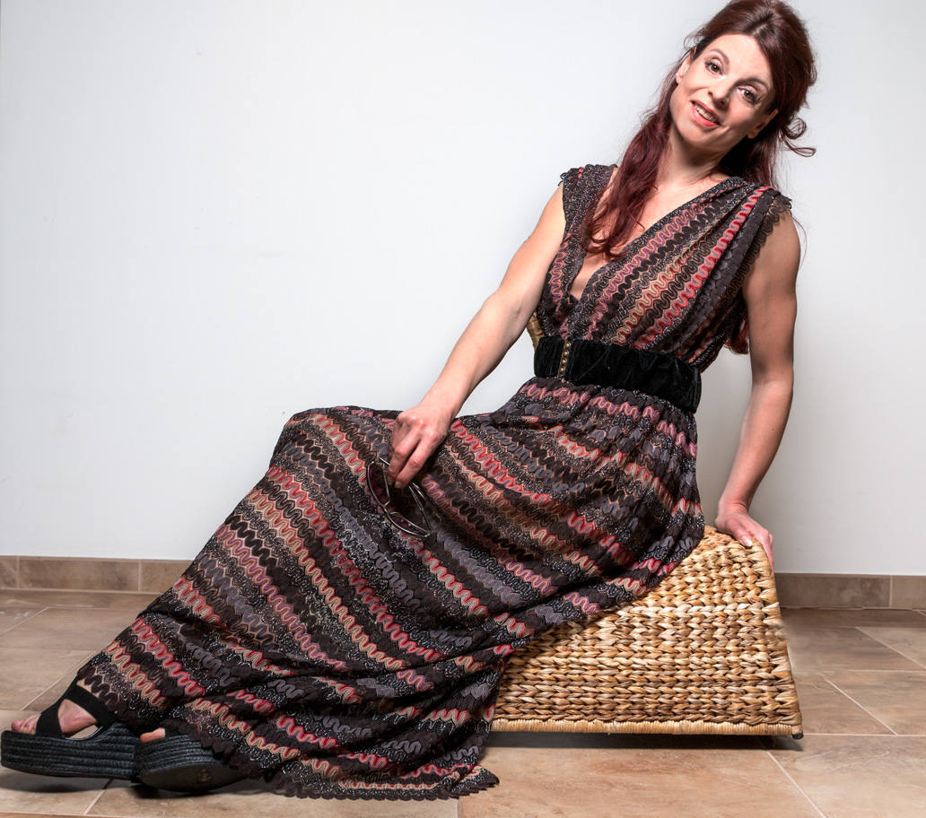 Maxi Kleid aus Spitze Boho Kleid