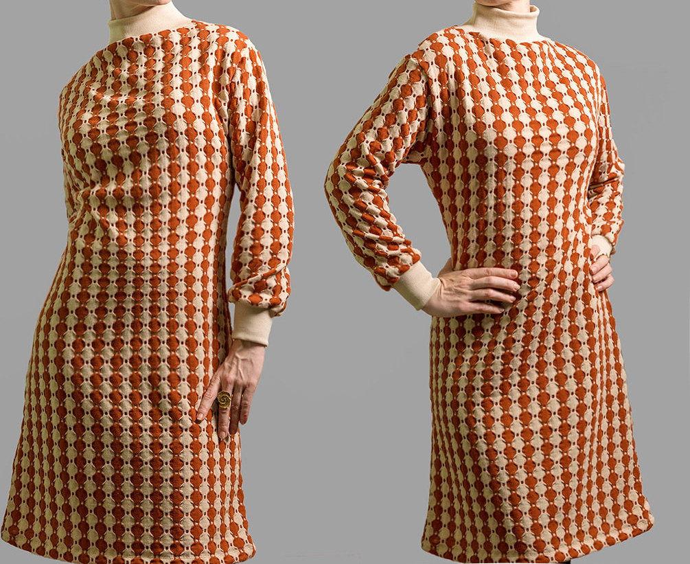 Kleid Rio Strickkleid mit Rollkragen 2
