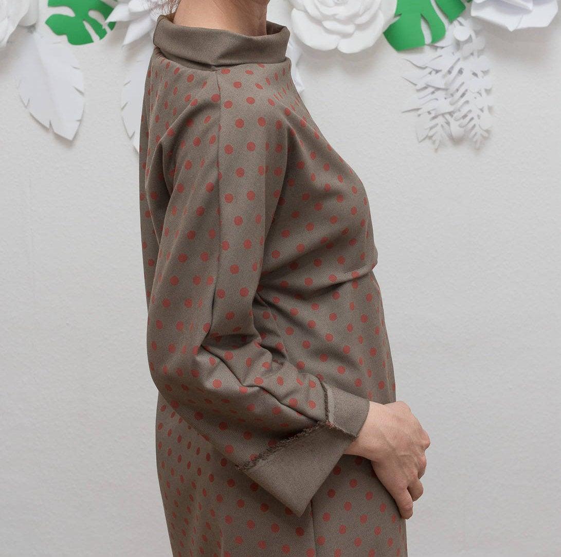 ROTETULPE Winterkleid Kimono Kleid 7
