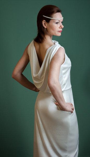 Kleid Brautkleid Paris ROTETULPE