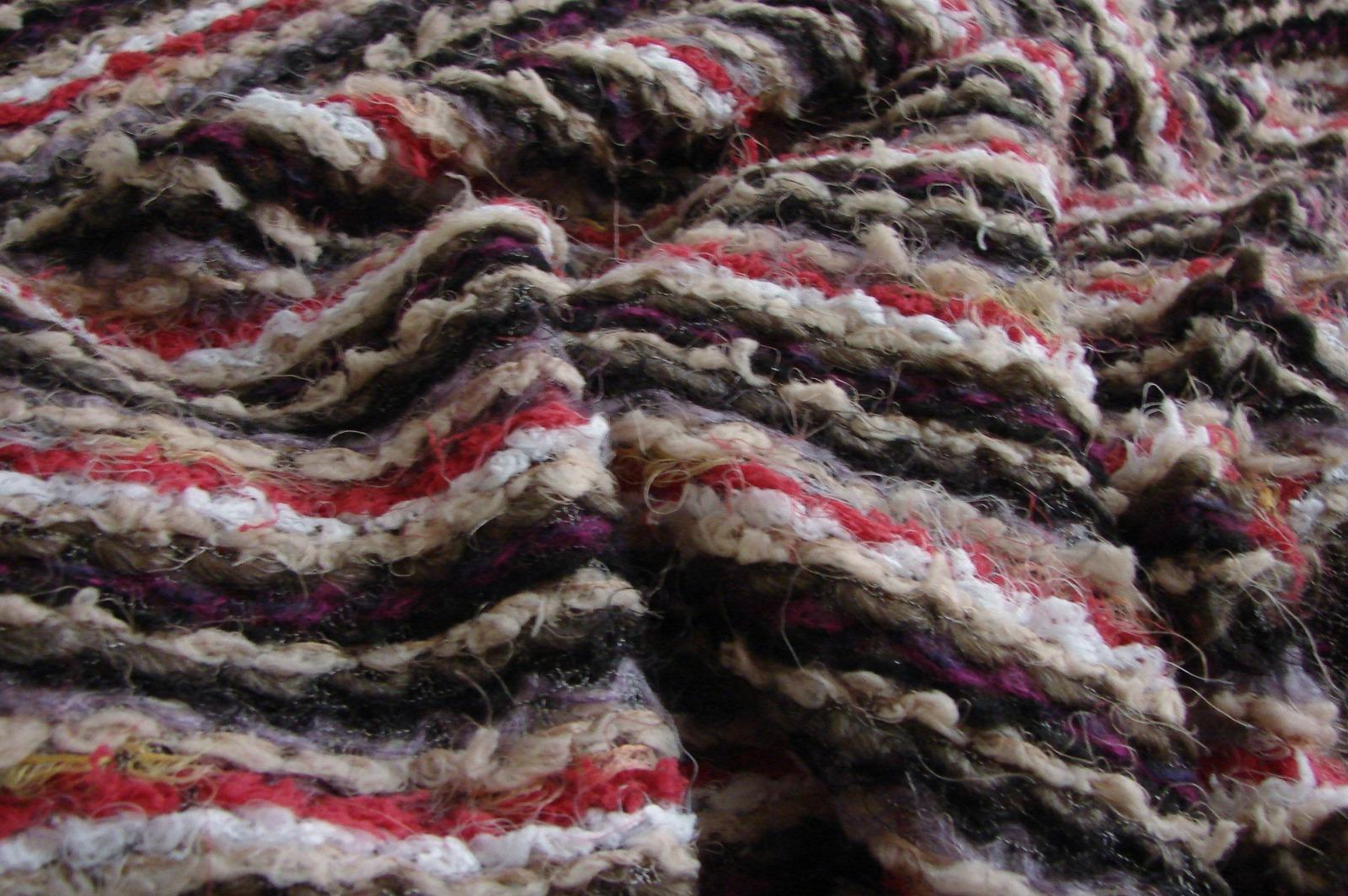Lange Strickpullover mit Kimono ärmel 5