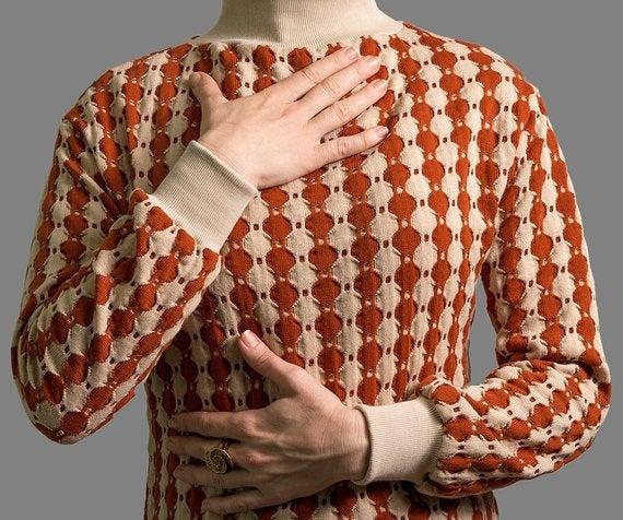 Kleid Rio Strickkleid mit Rollkragen