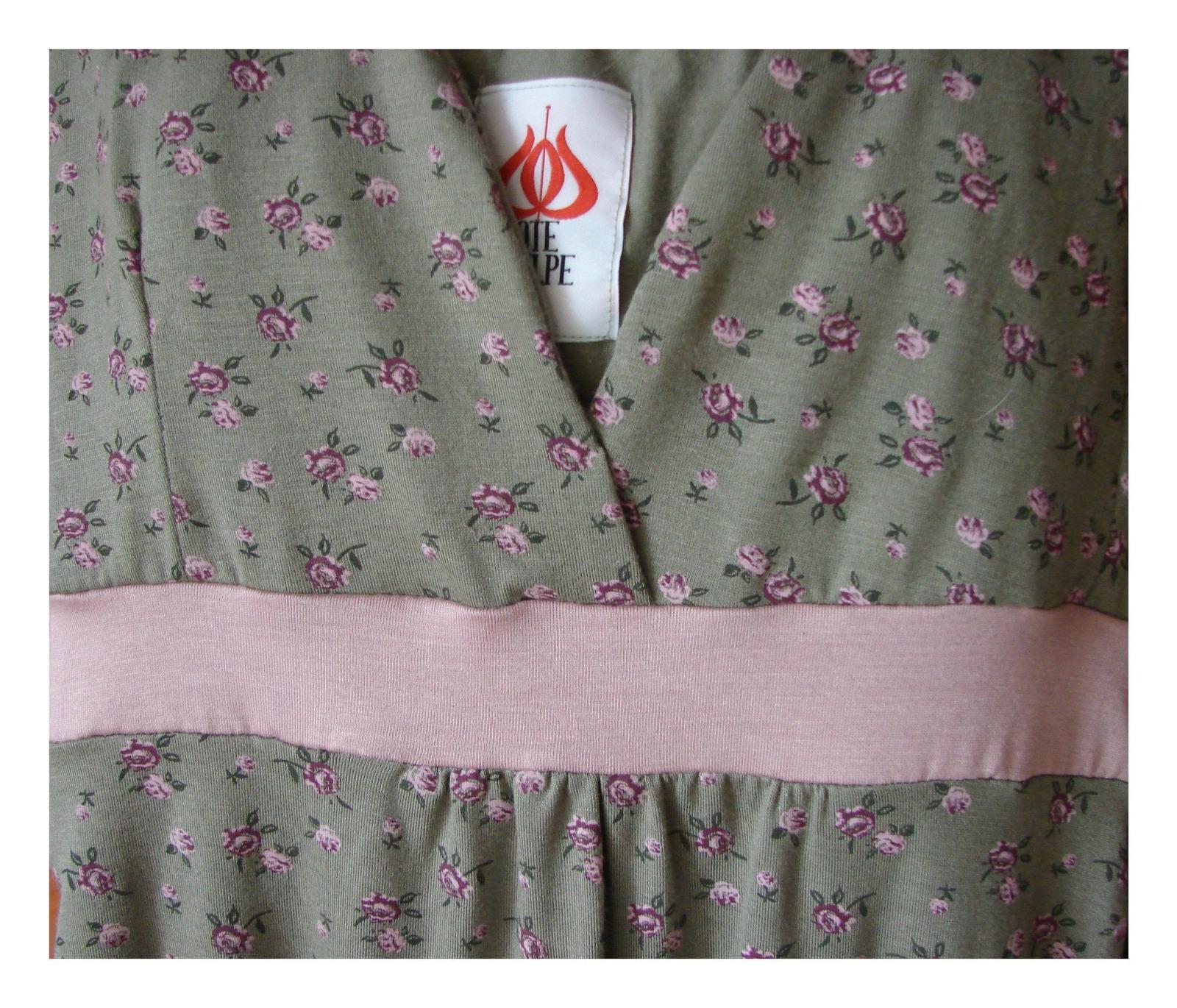 Kleid mit Blumenmuster Boho Kleid 7