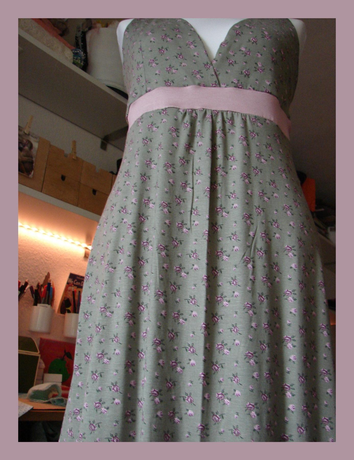 Kleid mit Blumenmuster Boho Kleid 10