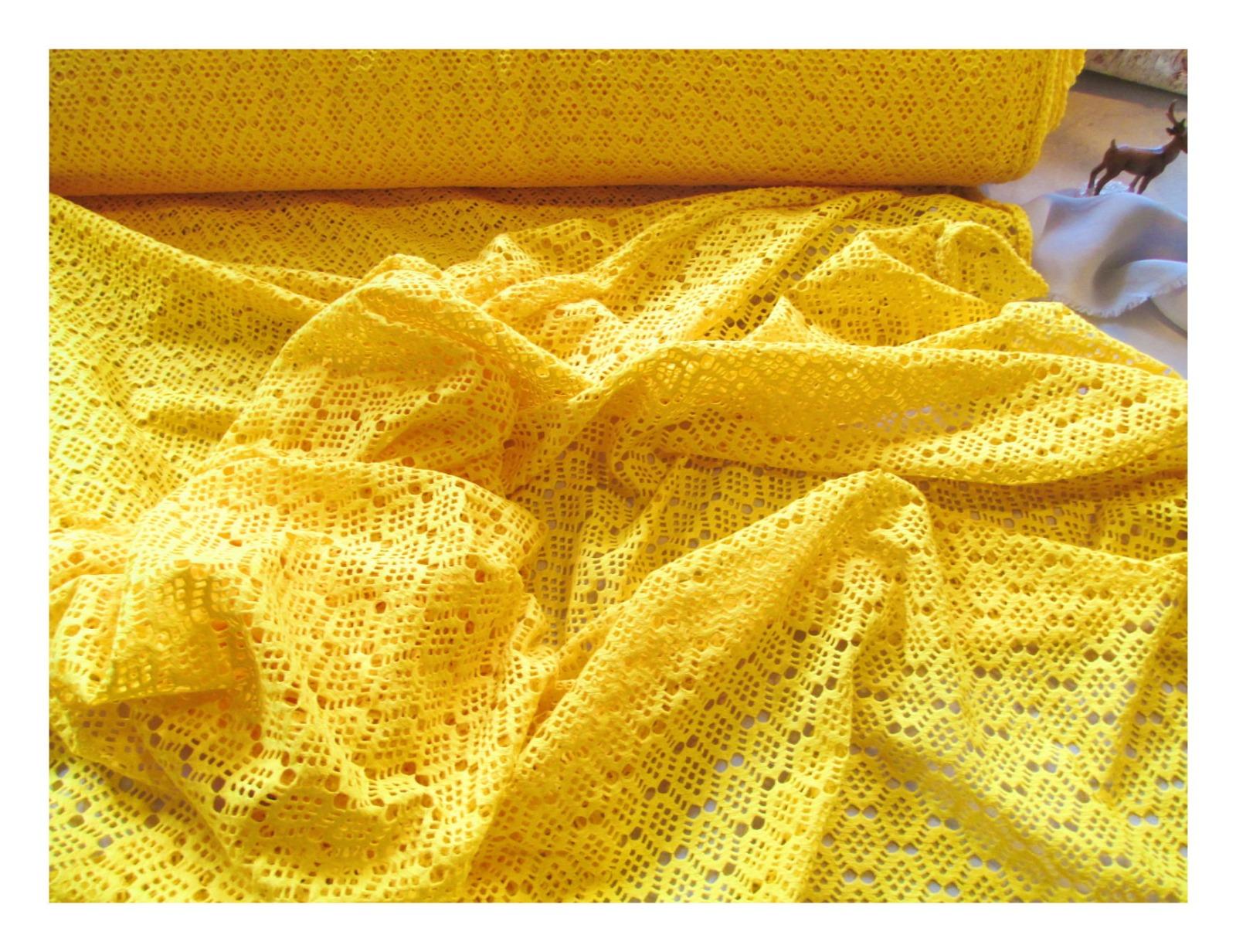 Sommerrock Sunny aus Spitze Gelb 7