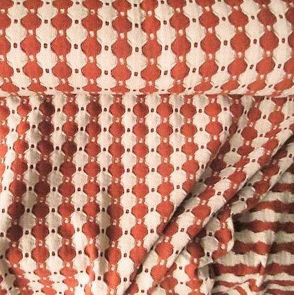 Kleid Strickkleid Burnt Orange 70er kleid