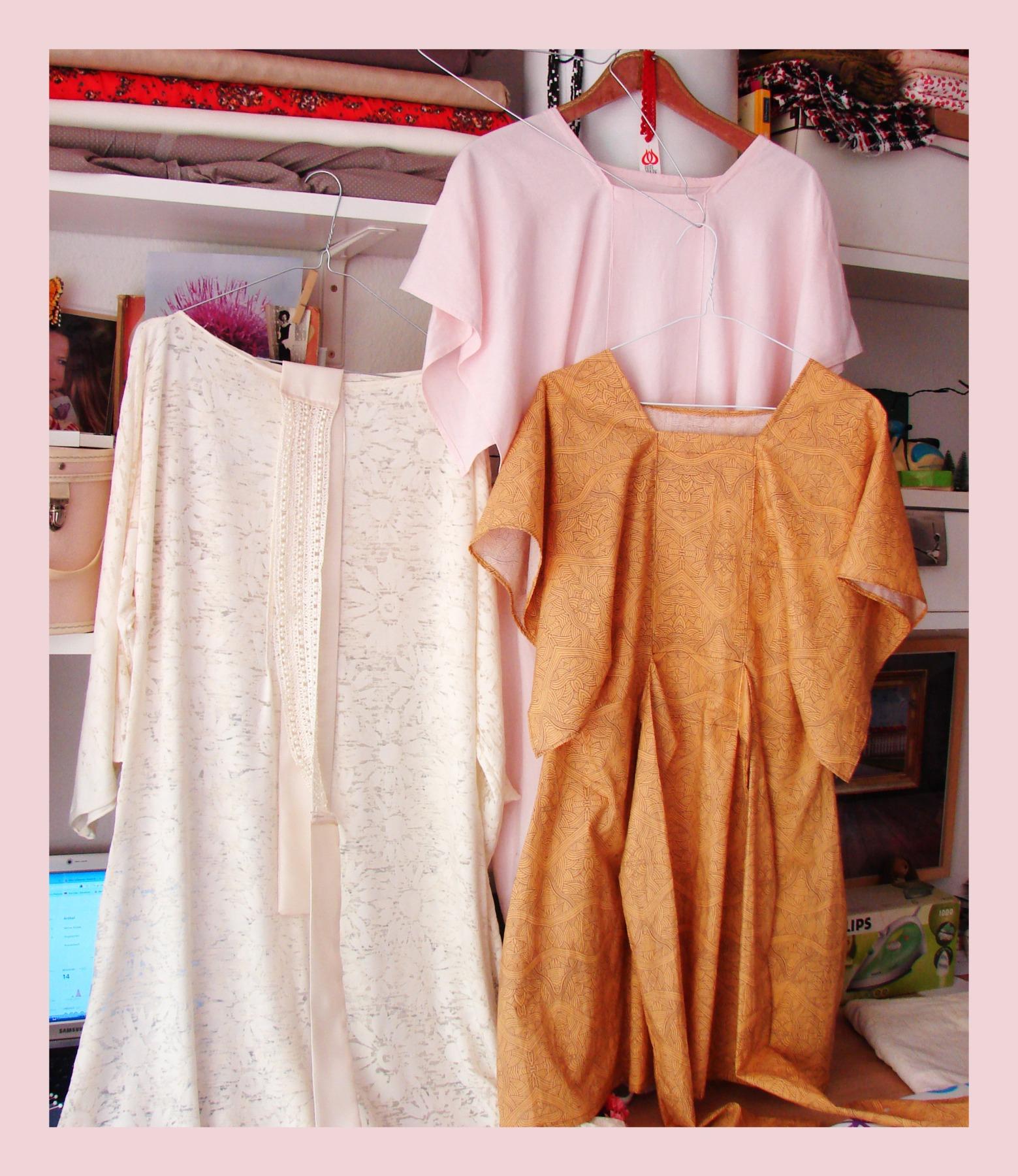 Leinen Kleid Kandy schlichtes Sommerkleid 9