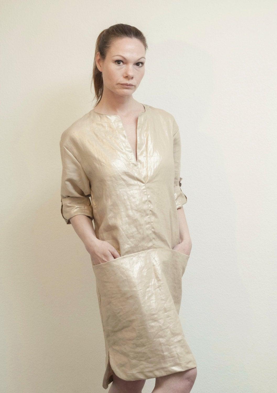 Leinenkleid Goldy Sommerkleid 2