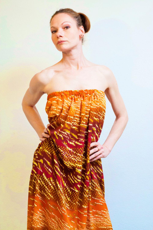Boho Kleid Sommerkleid ROTETULPE 3