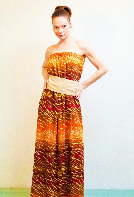 Boho Kleid Sommerkleid ROTETULPE
