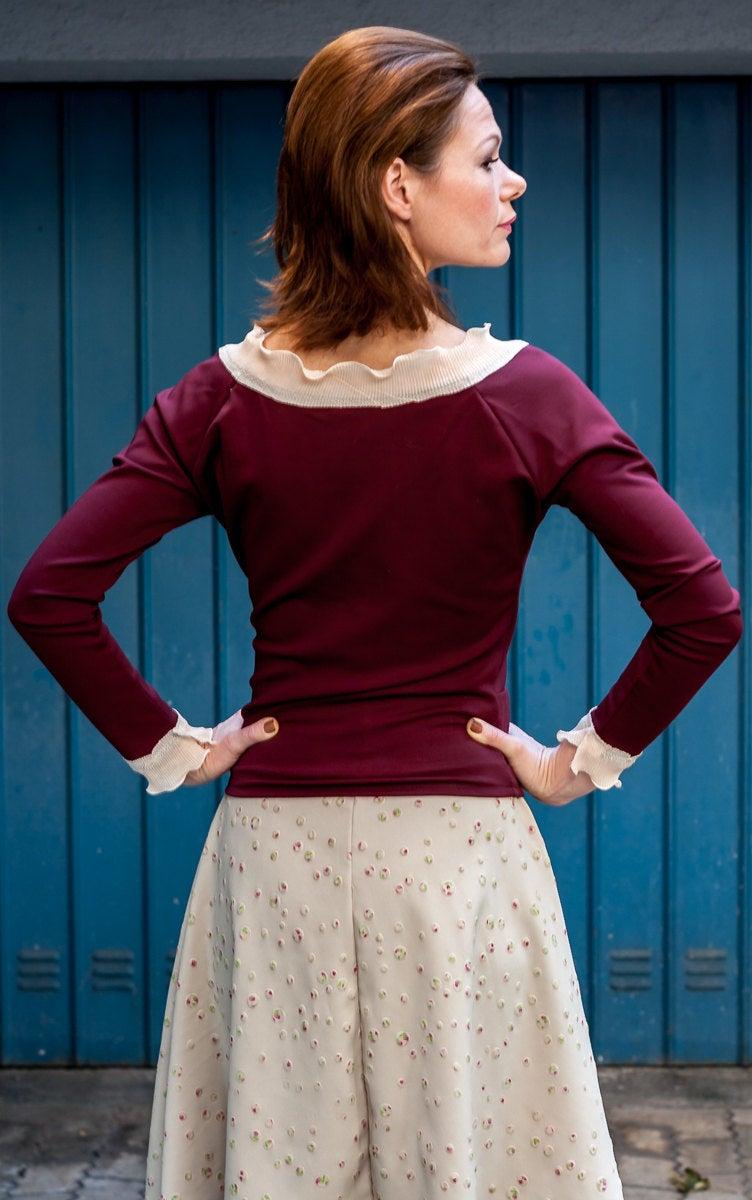 ROTETULPE Pullover elegant 3