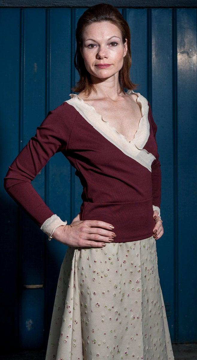 ROTETULPE Pullover elegant