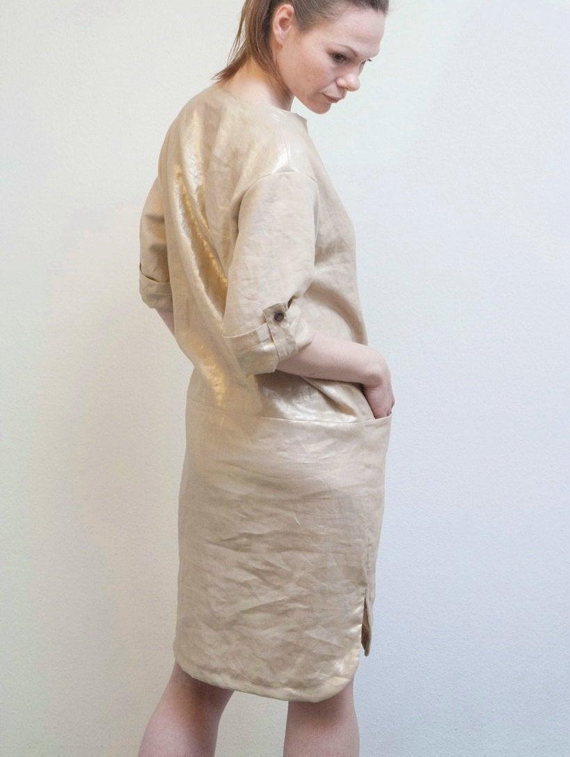 Leinenkleid Goldy Sommerkleid 3