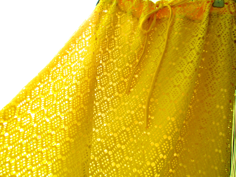 Sommerrock Sunny aus Spitze Gelb 2