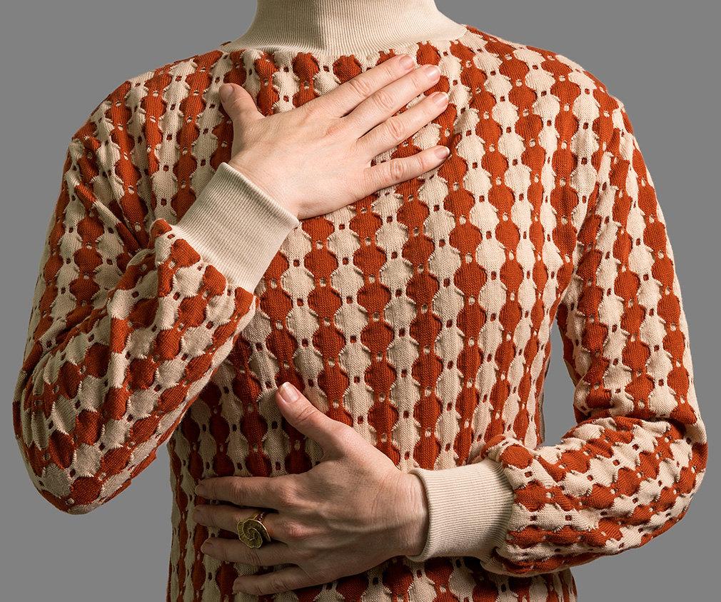 Kleid Rio Strickkleid mit Rollkragen 3