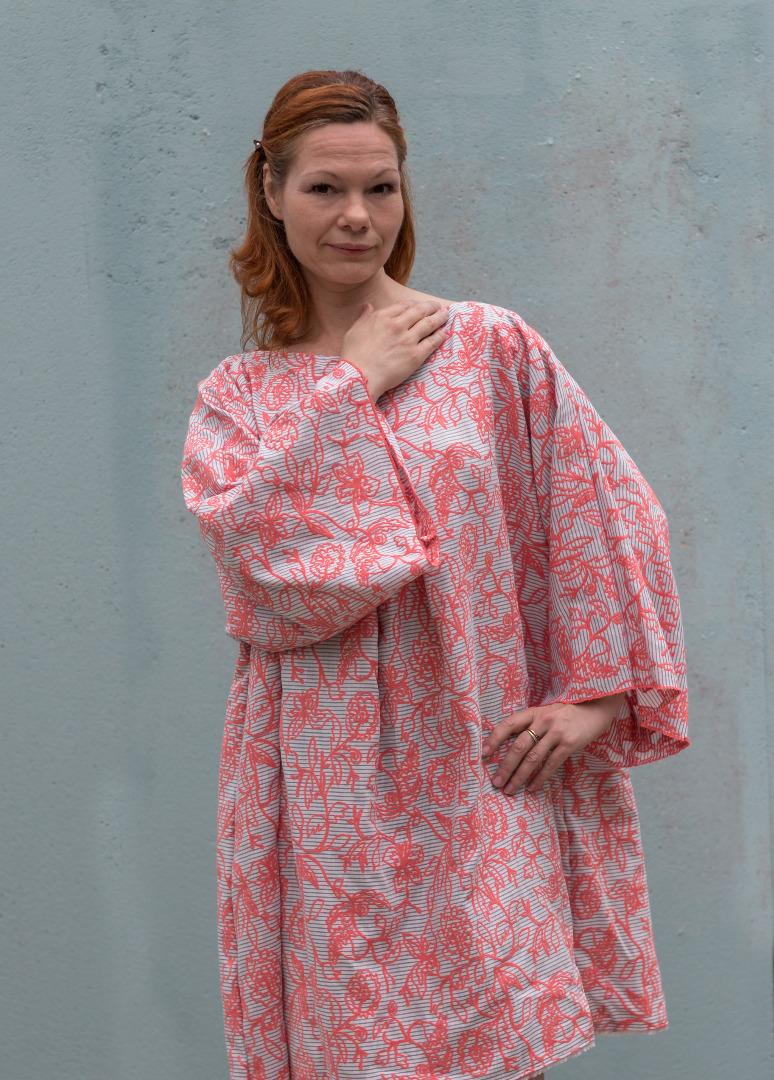 Kleid Mirabell Sommerkleid Leinenkleid 3