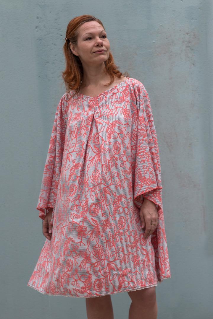 Kleid Mirabell Sommerkleid Leinenkleid
