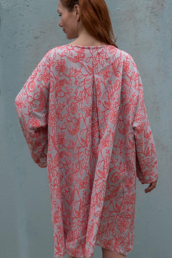 Kleid Mirabell Sommerkleid Leinenkleid 5