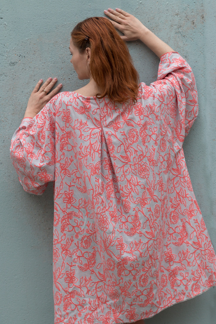 Boho Kleid Mirabell Sommerkleid 2