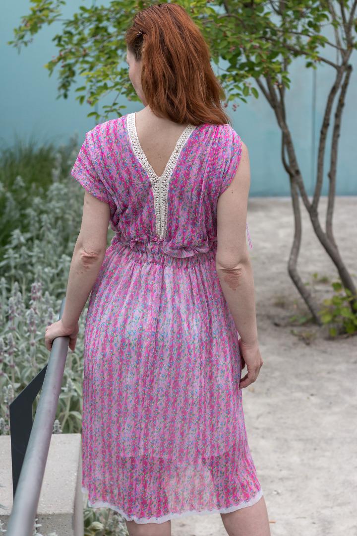 Sommer Kleid in Pink Tüllkleid Kleid