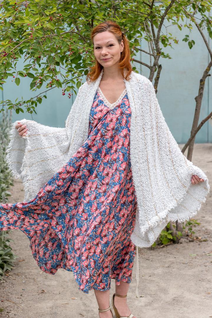 Sommer Kleid Blau ROTETULPE 5